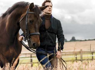 обоя мужчины, henry cavill, лошадь