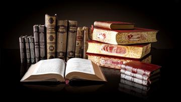 обоя разное, канцелярия,  книги, книги