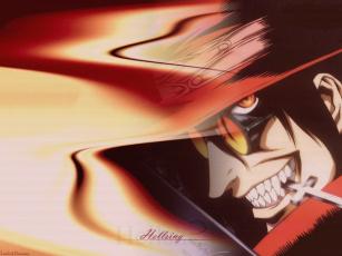 Картинка аниме hellsing