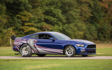 Картинка автомобили mustang 2016г ford cobra jet drag car