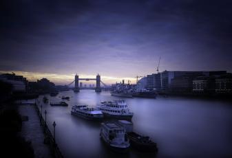 обоя корабли, разные вместе, london, morning, город