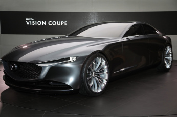 обоя mazda vision coupe concept 2017, автомобили, mazda, vision, coupe, concept, 2017