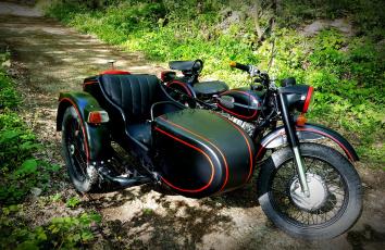 обоя урал, мотоциклы, мотоциклы с коляской, мотоцикл