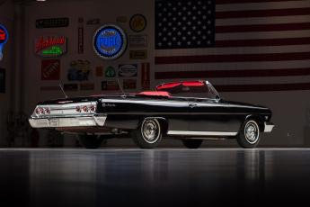 Картинка chevrolet+impala+ss+409+convertible автомобили chevrolet 409