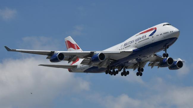 Обои картинки фото boeing 747-436, авиация, пассажирские самолёты, авиалайнер