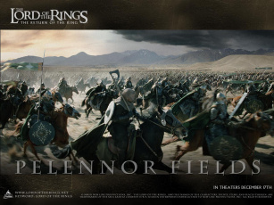 обоя битва, на, пеленнорской, равнине, кино, фильмы, the, lord, of, rings, return, king