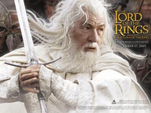 обоя гэндальф, белый, кино, фильмы, the, lord, of, rings, return, king