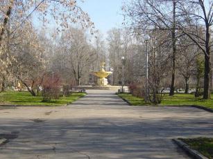 обоя комс, парк, Череповец, города, фонтаны