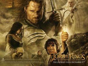 обоя властелин, колец, кино, фильмы, the, lord, of, rings, return, king