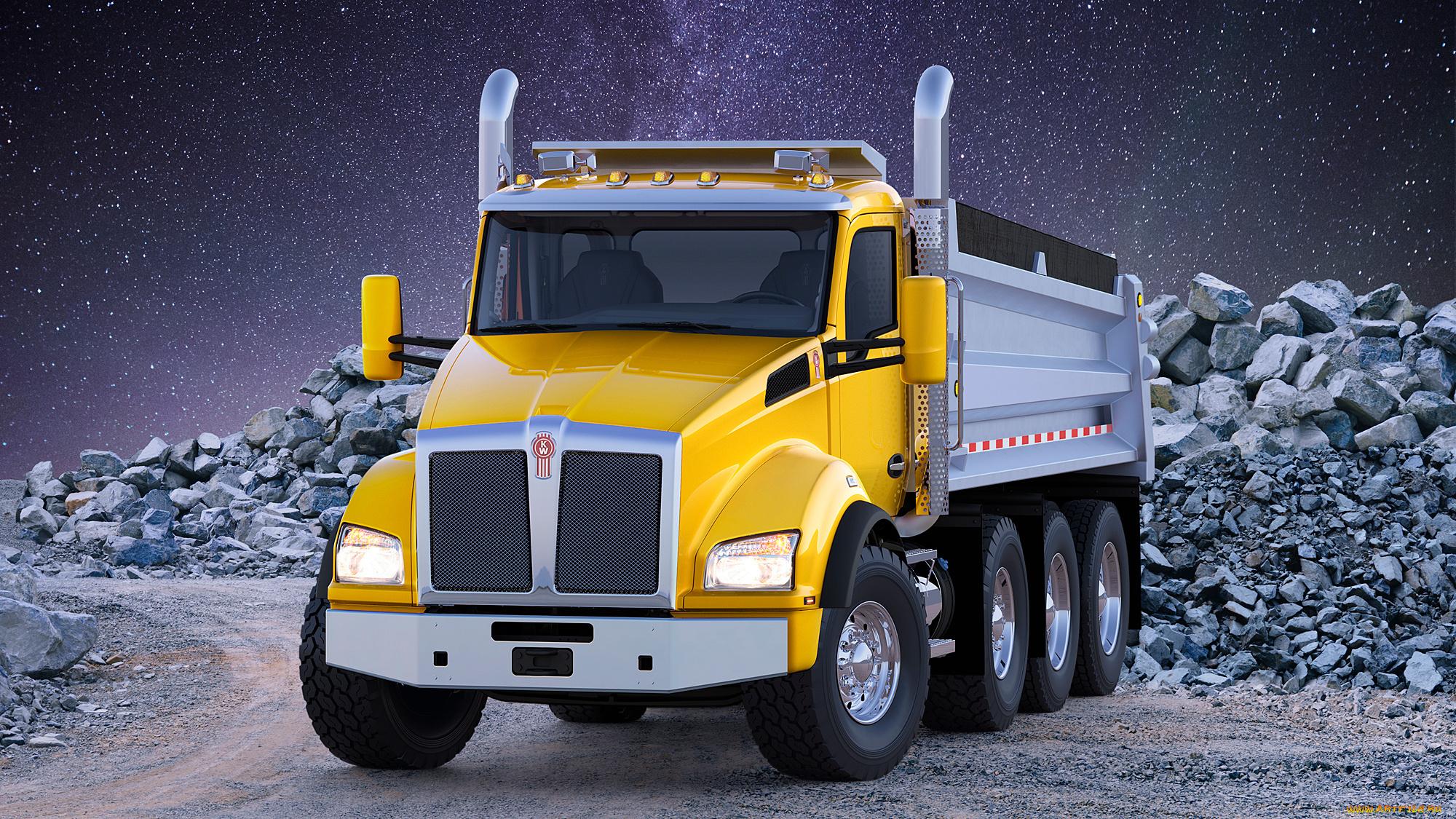 самом картинки про грузовые машины весело
