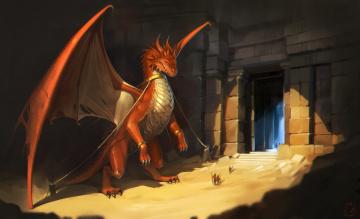 Картинка фэнтези драконы дракон