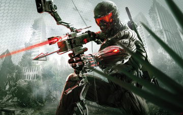 Картинка crysis+3 видео+игры shooter crysis warrior computer game