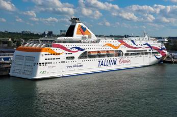 Картинка baltic+queen корабли лайнеры круизный лайнер