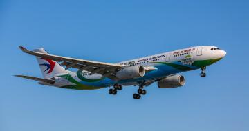обоя airbus a320, авиация, пассажирские самолёты, авиалайнер