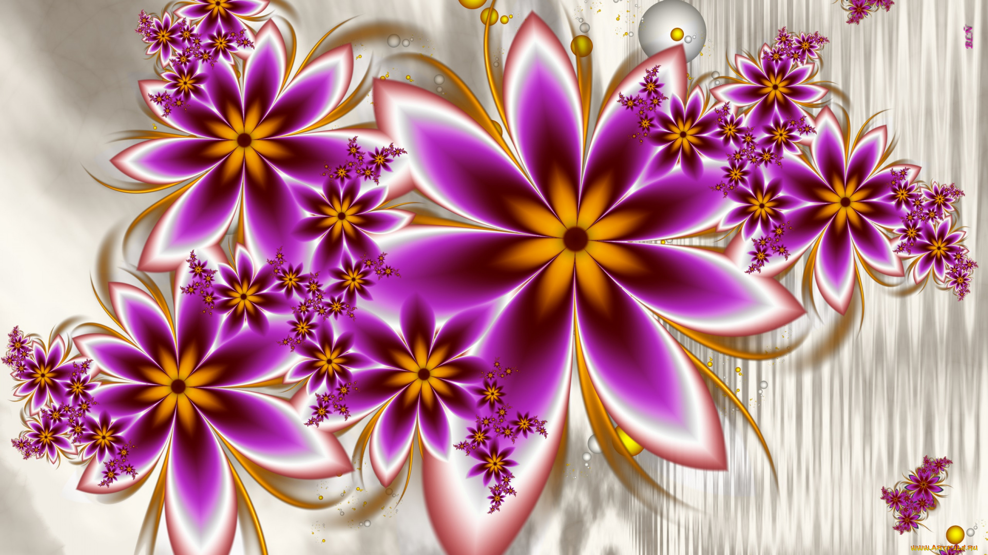 3 д картинки цветы
