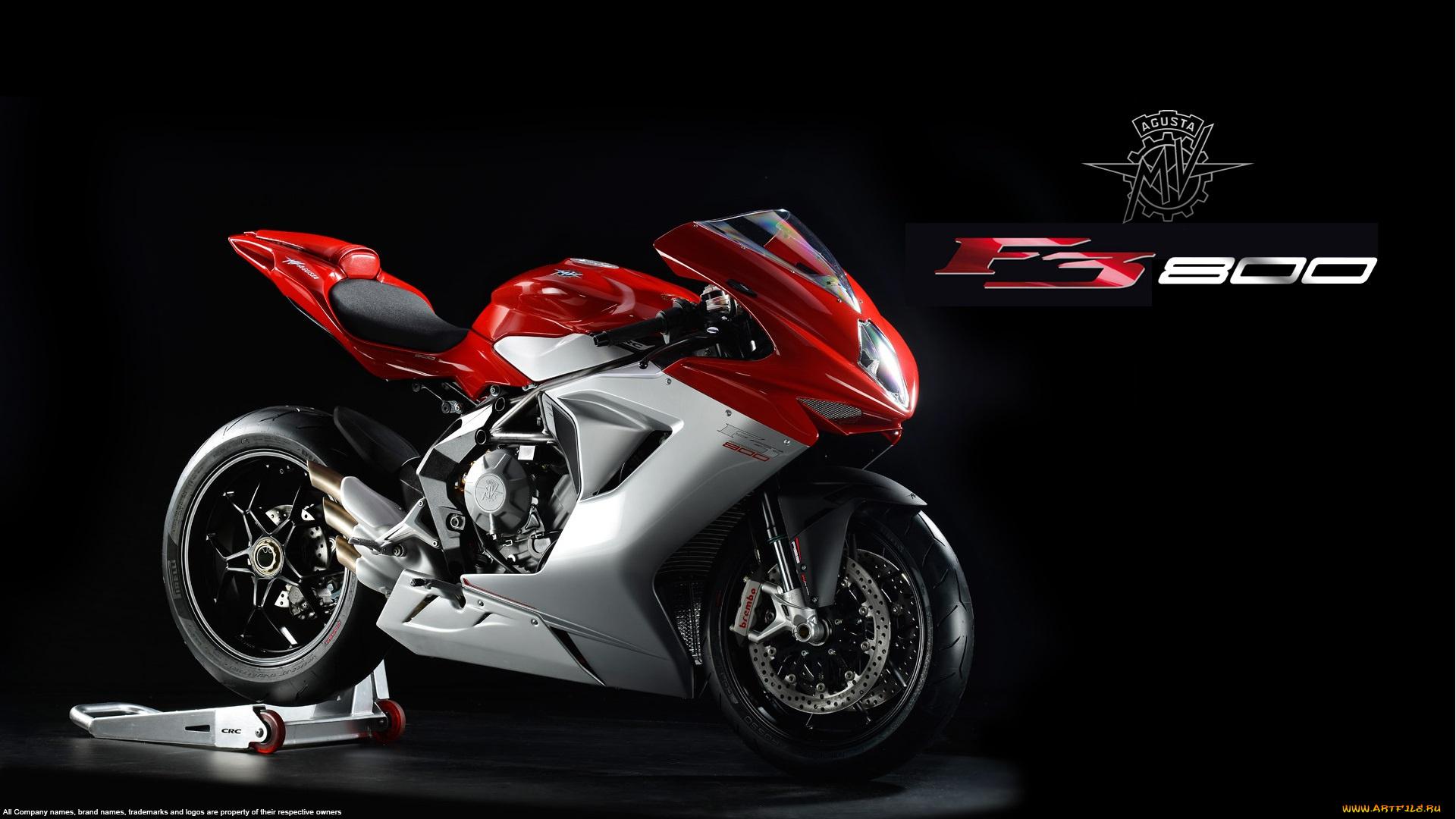 Мотоцикл Agusta F3 800 черный онлайн