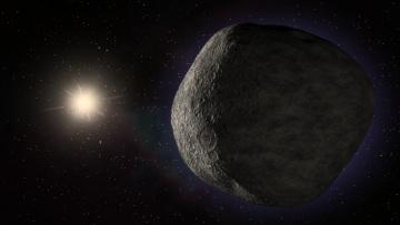 Картинка космос кометы метеориты пояс койпера болид полет звезды
