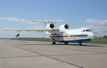 обоя бе- 200 Чс, авиация, самолёты амфибии, бе-, 200, Чс, самолёт, амфибия