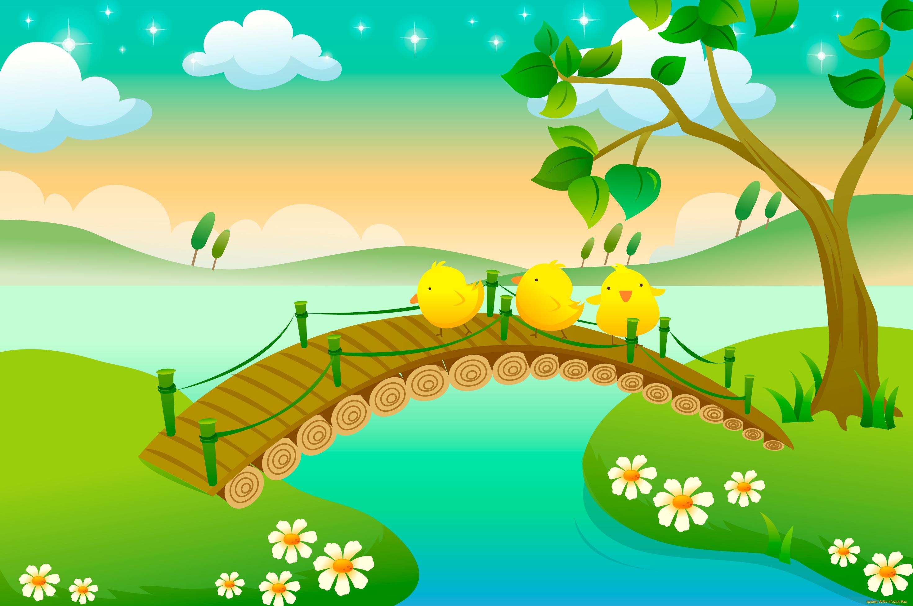 Мосты картинки детям