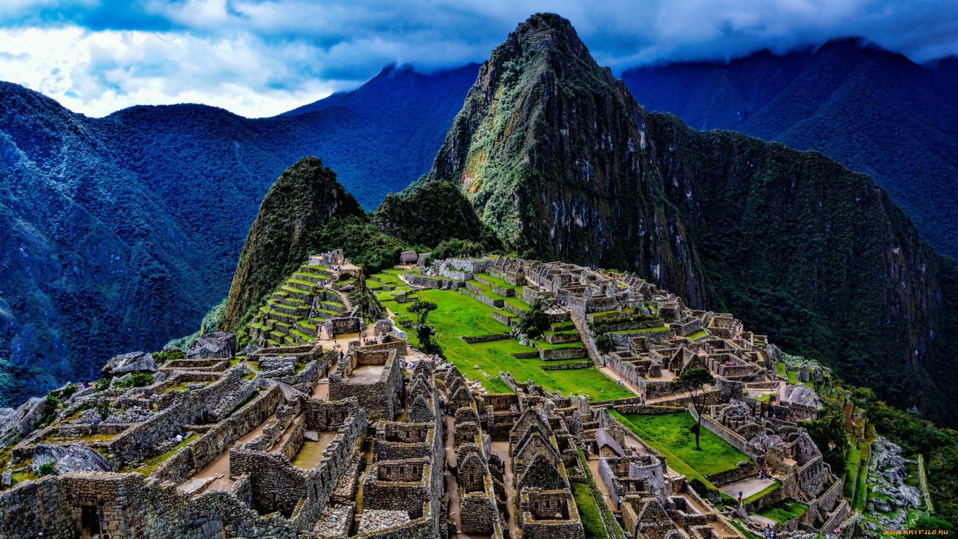 мачу-пикчу перу Machu Picchu Peru Machu Picchu  № 393757  скачать