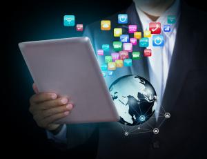 Картинка компьютеры -unknown+ разное планшет иконки схема рука костюм