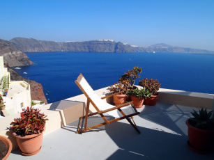 обоя интерьер, веранды,  террасы,  балконы, шезлонг, залив