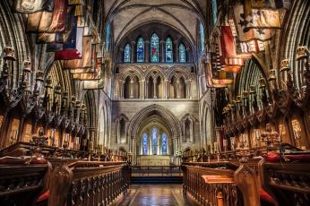 Картинка st +patrick`s+cathedral+dublin интерьер убранство +роспись+храма собор