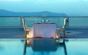 обоя интерьер, кафе,  рестораны,  отели, ужин, романтический