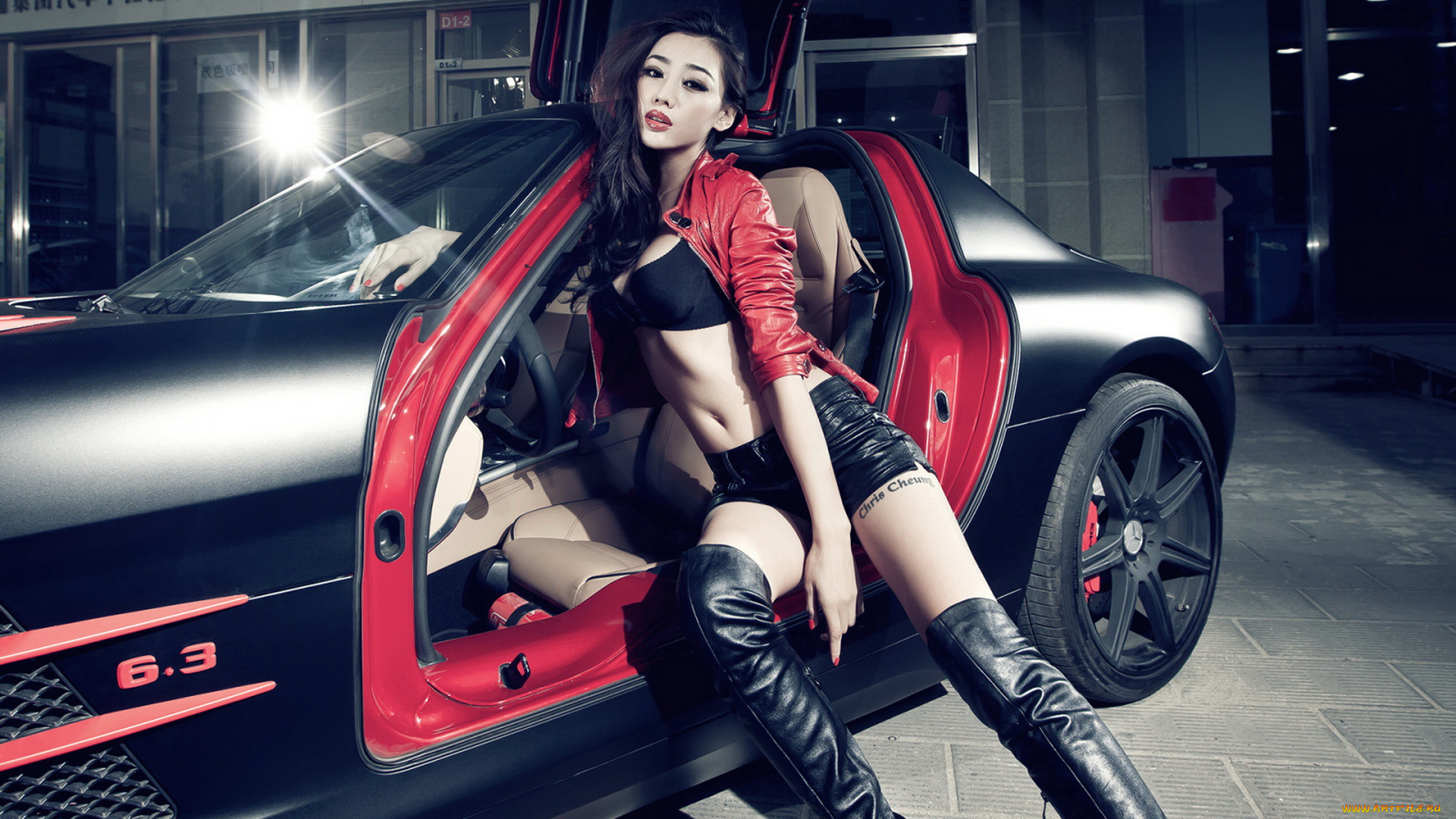 Sexy asian cars with girls, biker chicks pussy pics