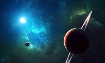 Картинка космос арт space planets star планеты