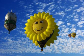 обоя авиация, воздушные шары, воздушные, шары, полет