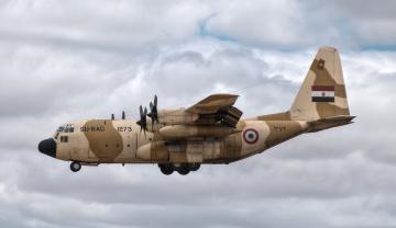 обоя c-130h hercules, авиация, военно-транспортные самолёты, транспорт