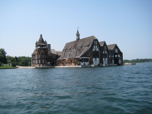 Картинка города здания дома вода