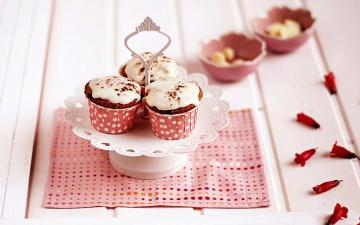 Картинка еда пирожные +кексы +печенье капкейки глазурь кексы