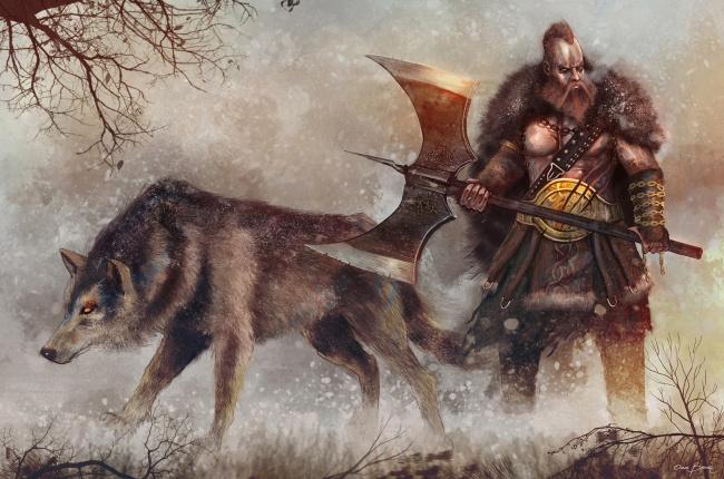 викинги фэнтези картинки
