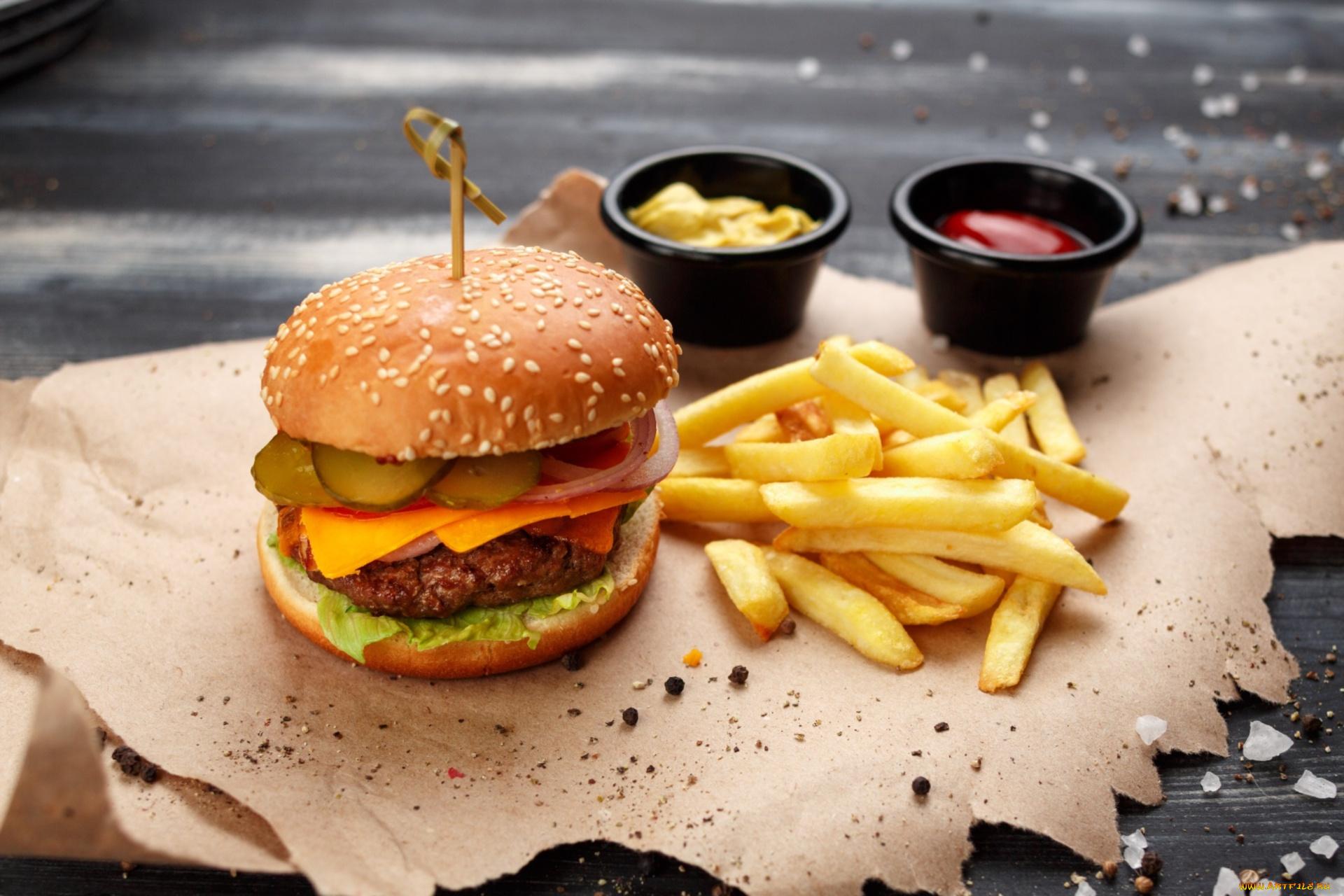 Чикенбургер без смс