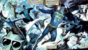 обоя рисованное, комиксы, лига, справедливости, супергерой, арт