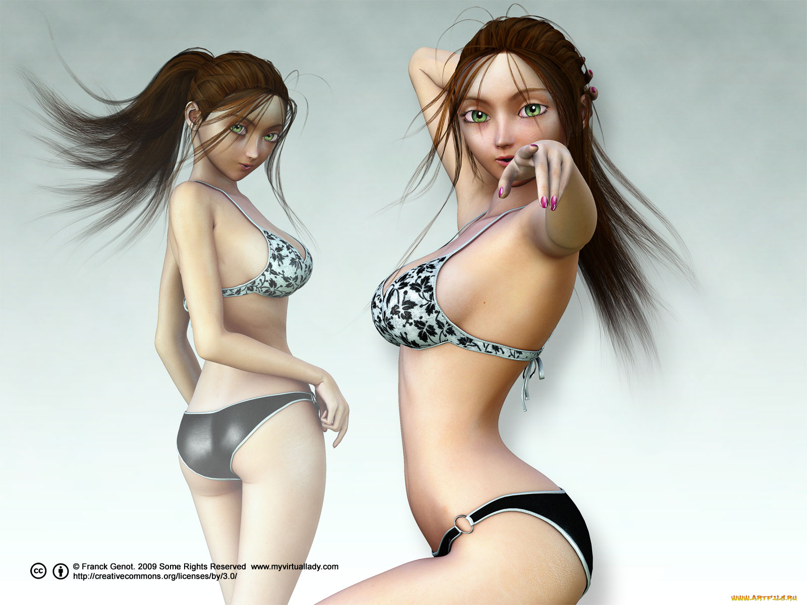 Most realistic virtual animation porn comics