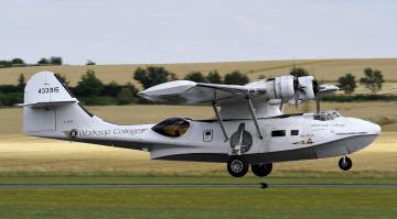 обоя pby-5a catalina, авиация, самолёты амфибии, гидроплан