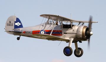 обоя gladiator ii, авиация, лёгкие одномоторные самолёты, биплан