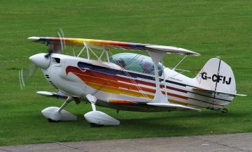 обоя christen eagle ii, авиация, лёгкие одномоторные самолёты, биплан