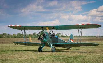 обоя авиация, лёгкие одномоторные самолёты, биплан