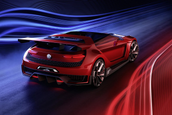 обоя volkswagen gti roadster concept 2017, автомобили, 3д, volkswagen, 2017, concept, roadster, gti