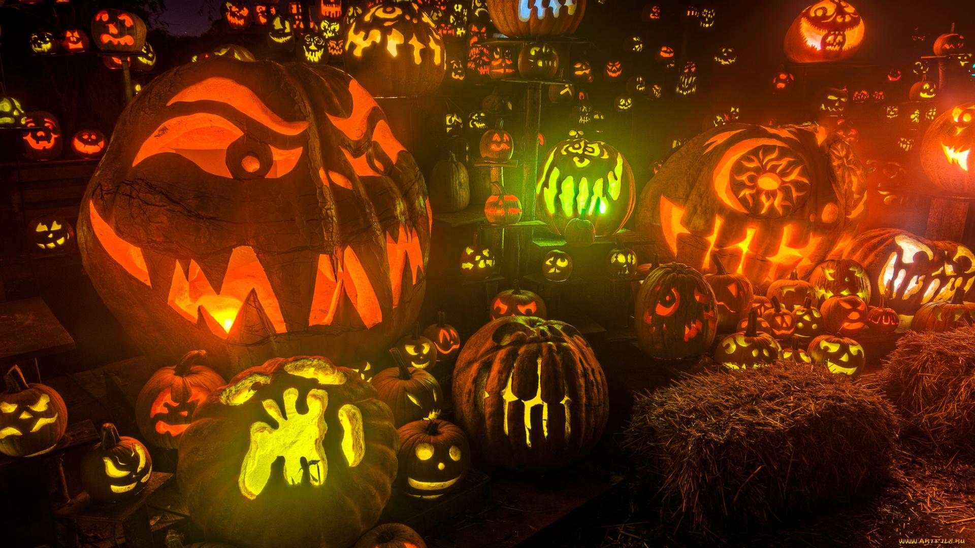 дети праздник Хэллоуин без регистрации