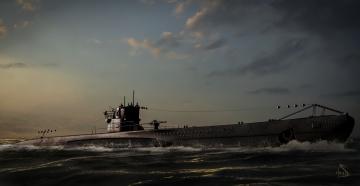 Картинка рисованные армия лодка