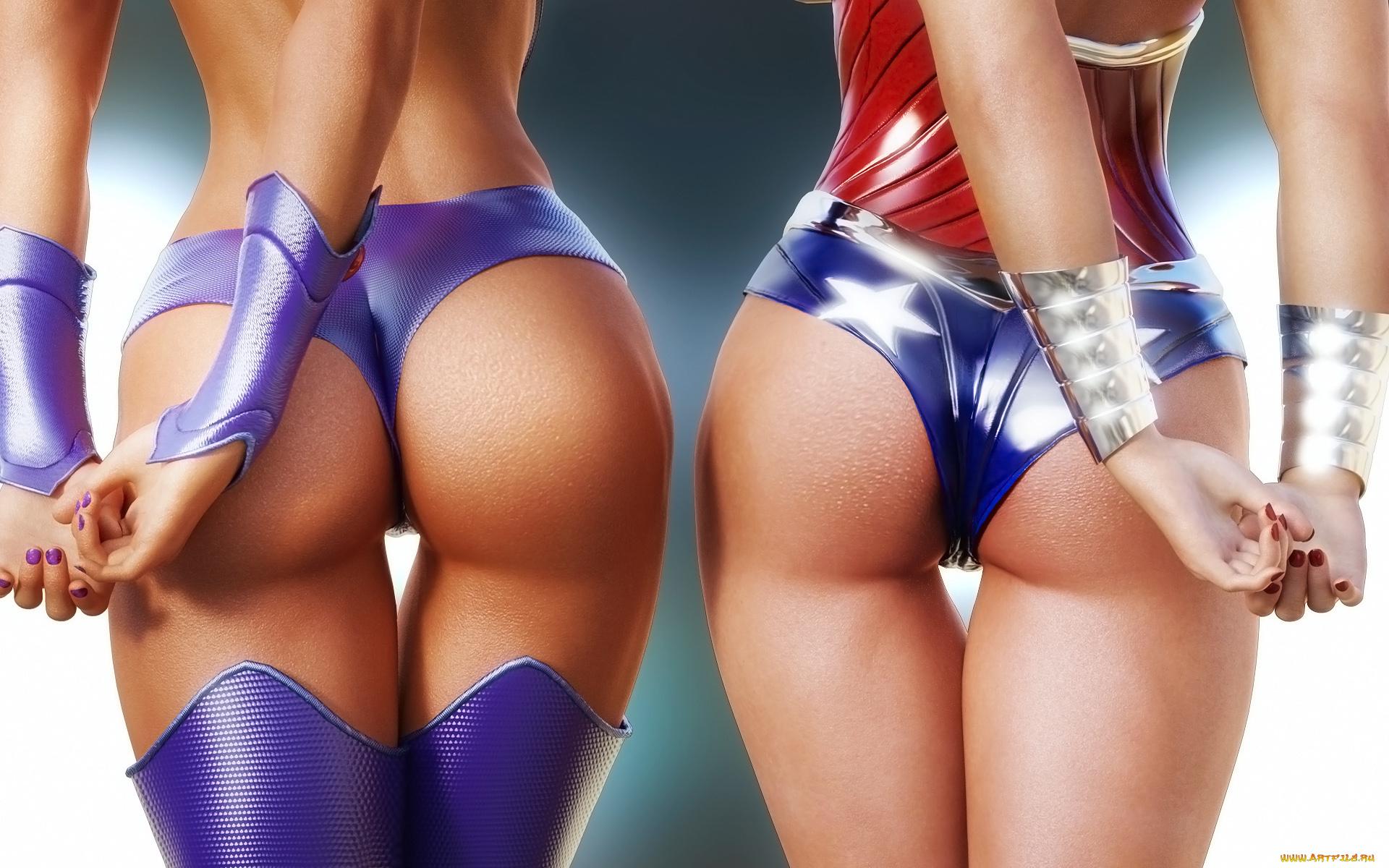 Упругие сочные попки девушек, Большие жопы, упругие задницы, попки, качественное 2 фотография