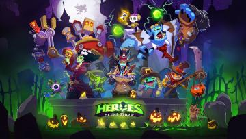 обоя видео игры, heroes of the storm, онлайн, ролевая, heroes, of, the, storm, action