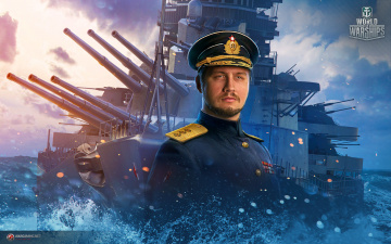 обоя видео игры, world of warships, world, of, warships, симулятор, action, онлайн