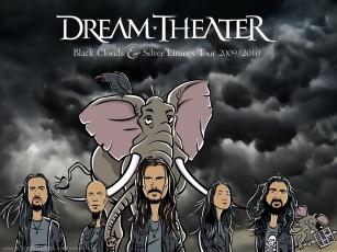 Картинка dream theater музыка сша прогрессивный рок метал