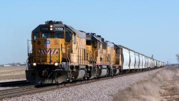 Картинка техника поезда железная состав локомотив дорога